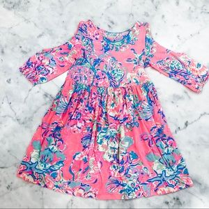 🎉🎉 LILLY PULITZER cold shoulder dress 🎉🎉